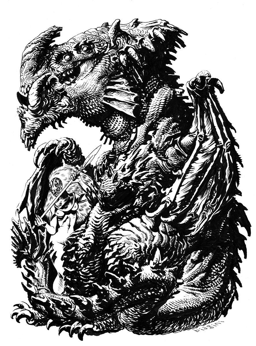 Kaiju Girl by francesco-biagini.deviantart.com on @deviantART