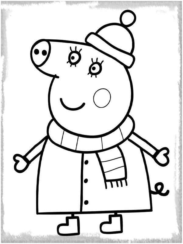Descargar Dibujos De Peppa Pig Para Colorear Dibujo De Peppa Pig Peppa Pig Para Colorear Peppa Para Pintar