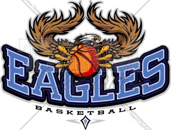 Eagles Basketball Clipart Vector Image Sports Team Logo Baseball Teams Logo Sports Team Logos Soccer Logo