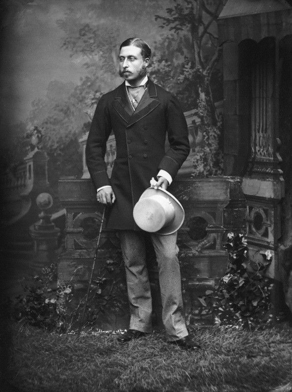 7th Child of Queen Victoria (1819-1901) & Prince Alfred (1819-1861) & husband of Princess Louise Margaret of Prussia (1860–1917). Prince Arthur (Arthur William Patrick Albert) (1850-1942), Duke of Connaught and Strathearn by Alexander Bassano, 1870s.
