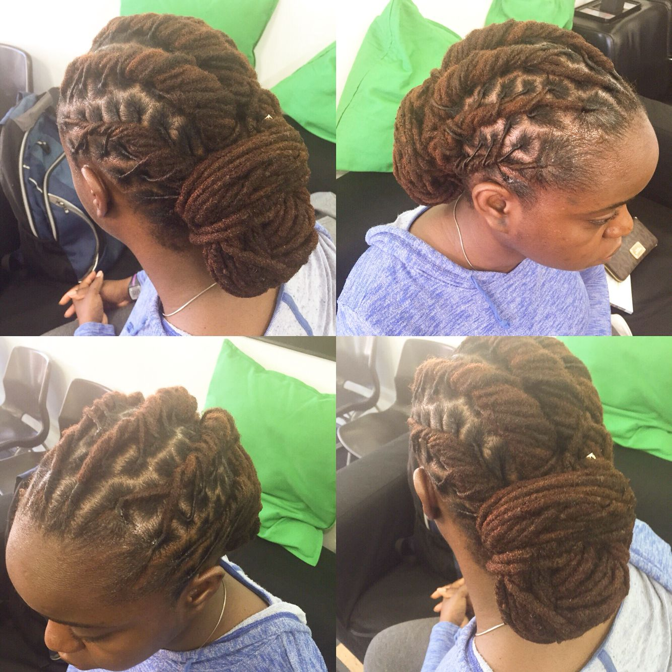 pinup dreadlocks hairstyle | dreadlocks by lm in 2019 | hair
