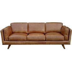 Dahlia 3 Seat Sofa Leather Sofa Leather Lounge Best Leather Sofa