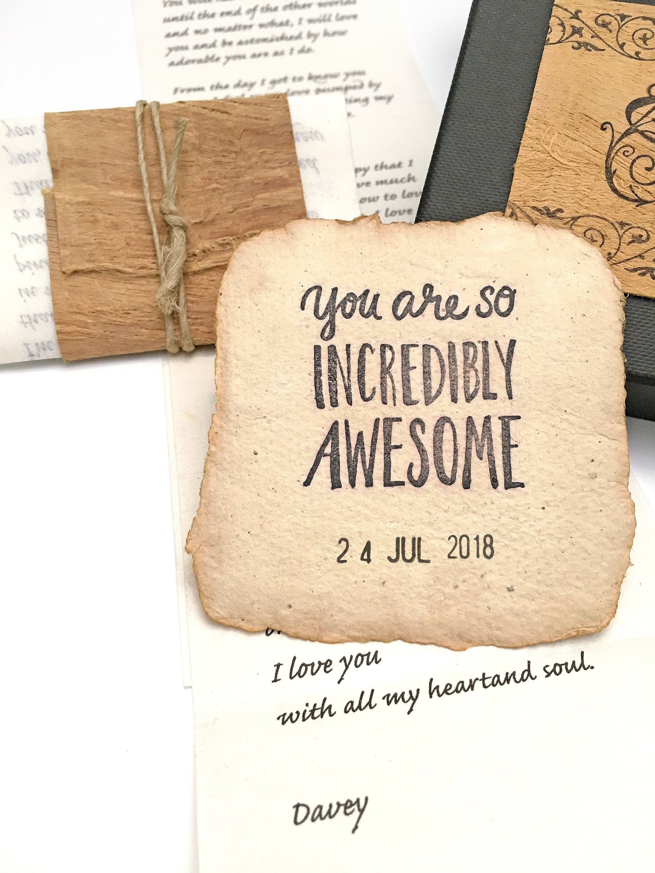 Sentimental 1 year anniversary gift for husband, Meaningful 1st anniversary together, Romantic paper wedding gift for wife, your love letter-#1ST #anniversary #gift #husband #Letter #Love #meaningful #paper #romantic #sentimental #together #wedding #Wife #year