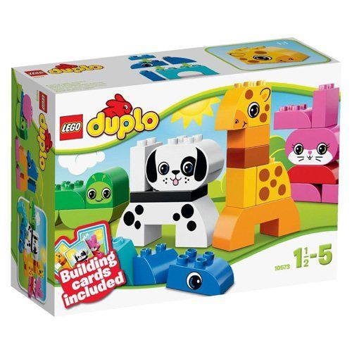 Lego Duplo 10573 Lustige Tiere Spielzeug Fur Kinder Ab 1 5 Jahren Linda Lego Duplo Lego Und Spielzeug