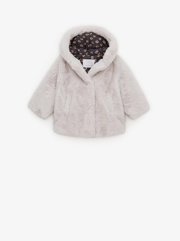 Pompom Faux Fur Coat Faux Fur Coat Fur Coat Faux Fur