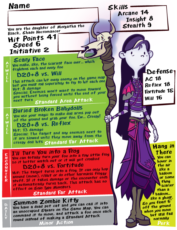 ART by STOWE: DND for Dads The Girls Part 2