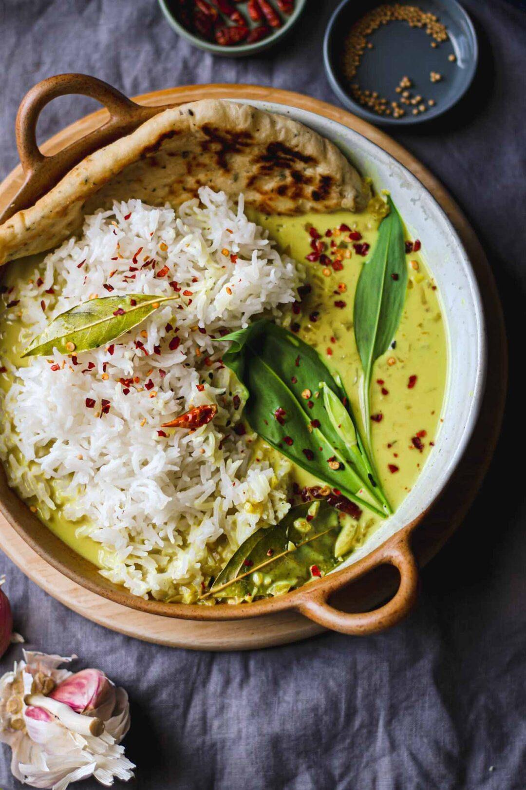 Kerala Buttermilk Curry - Vegan Creamy Curry Recipe Lucy & Lentils