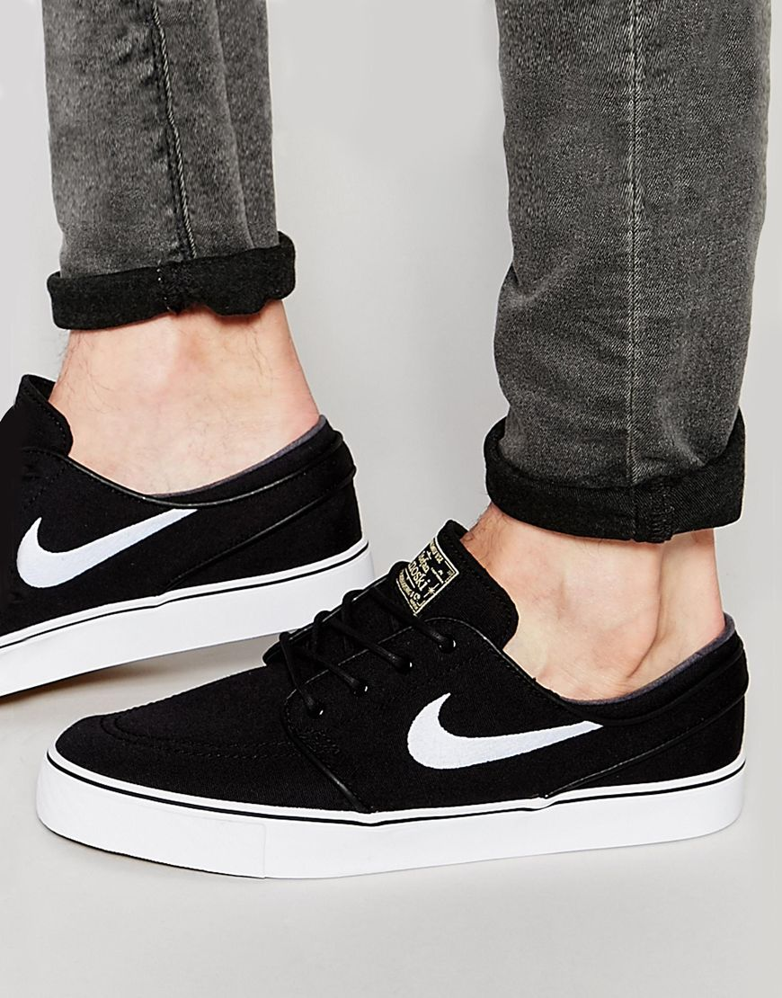 efaace697c Image 1 of Nike SB Zoom Stefan Janoski Canvas Trainers 615957-028 ...
