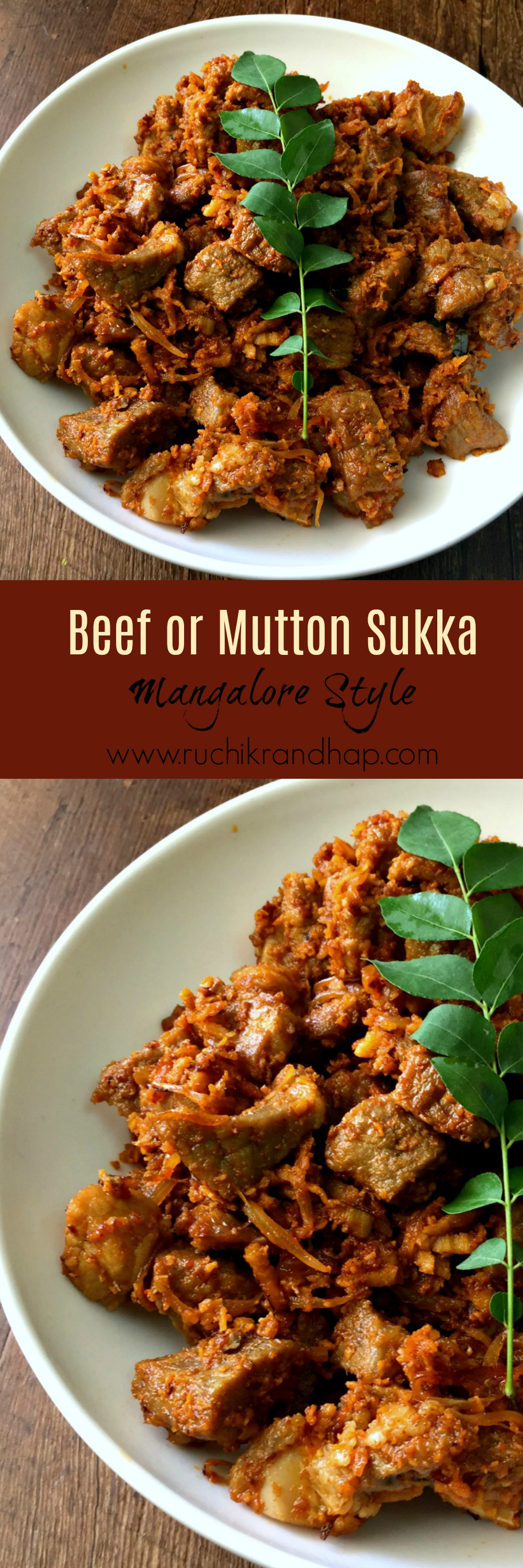Beef Sukka Video Ruchik Randhap Mutton Recipes Indian Food Recipes Curry Dishes