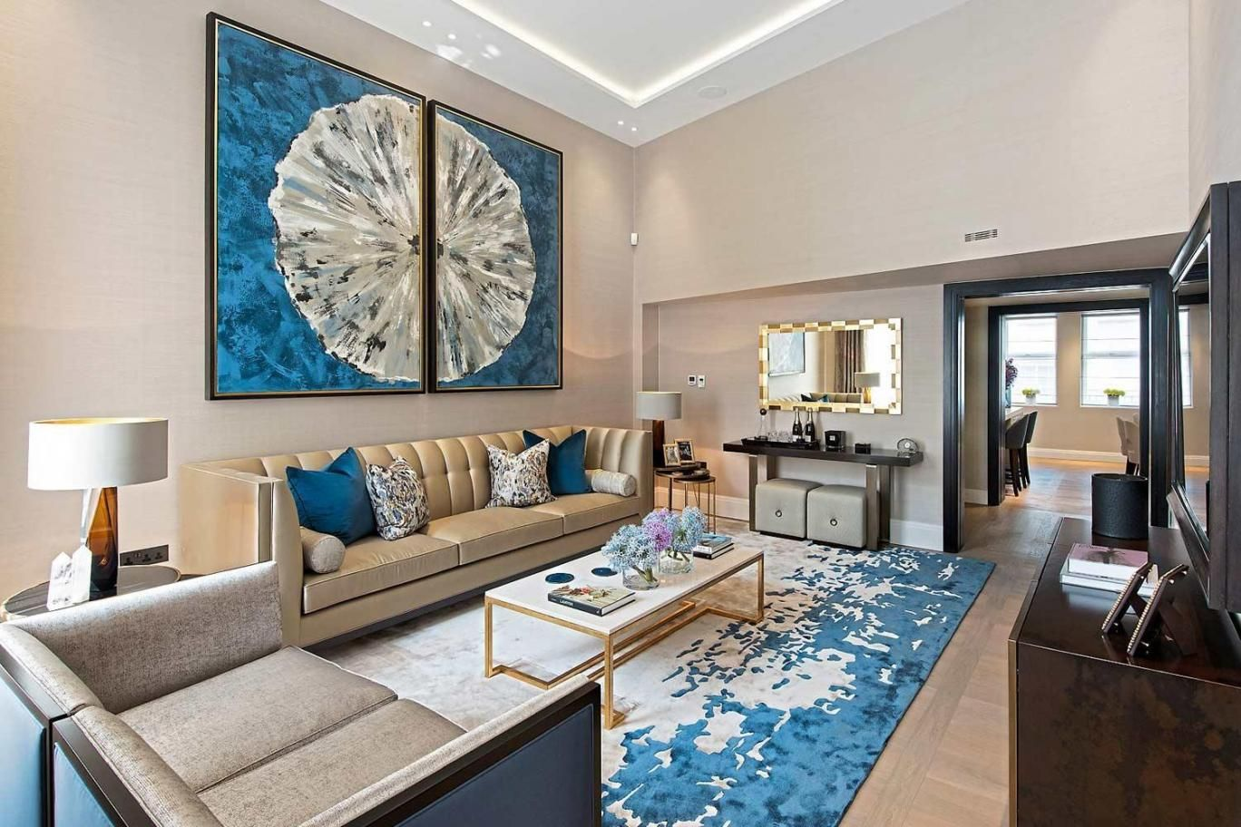 A beautiful bespoke version of our CELESTIAL rug, designed especially for Taylor Howes and their Crescent Park project. Loved finding this picture in the @eveningstandard last night.   #bespokerugs #taylorhowesdesign #COLBOURNS #handtuftedrugs #handtuftedcarpets #parkcrescent #london #eveningstandard #bespokedesign #luxuryinteriors #interiorstyling #luxuryproperty #luxury #140lotsroad
