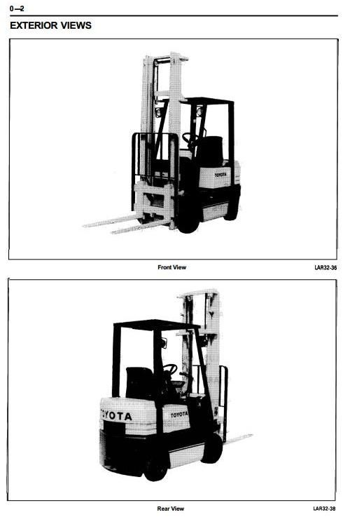 toyota lpg forklift truck 30 5fgc10 30 5fgc13 30 5fgc15 5fgc10 rh pinterest com Toyota Forklift Hydraulic Manual Toyota Forklift Repair Manual