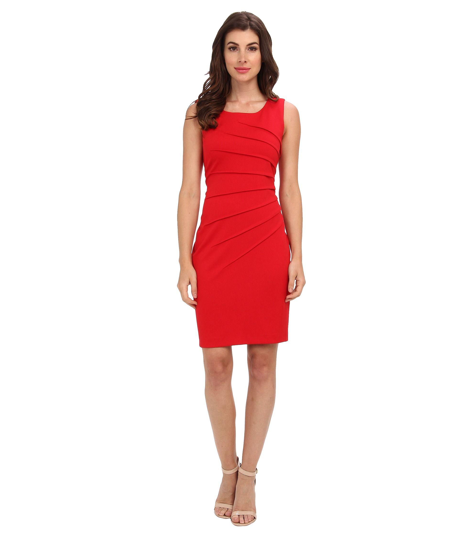 Image Result For Calvin Klein Red Dress Starburst Dressy Short Dresses Dresses Cocktail Evening Dresses