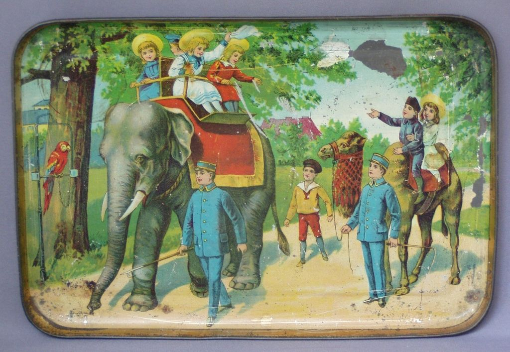 Child's Tin Tray