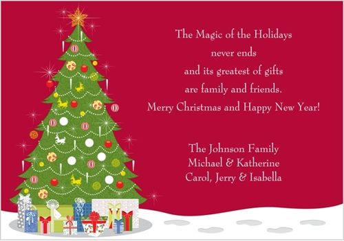 Amazing Christmas Card Sayings U0026 Christmas Card Wording Ideas
