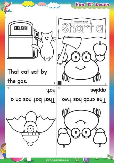 Short A Worksheets For Lkg Lkg Worksheet Pinterest Lkg
