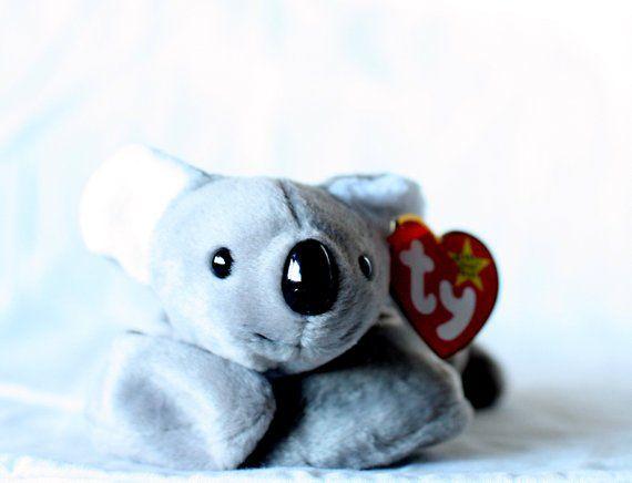 ac57b38b0 Mel Beanie Babies Beanie Baby Mel Koala Bear Rare Ty Beanie Babies ...