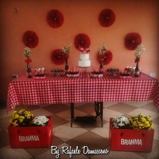 Decoração aniversário Rafaele Damaceno  instagram: Rafaele Damasceno
