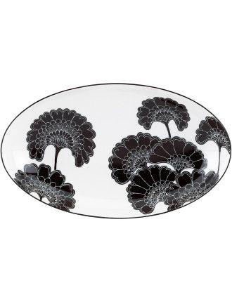 New York Anese Fl Nesting Platter 24cm David Jones Wedding Gift