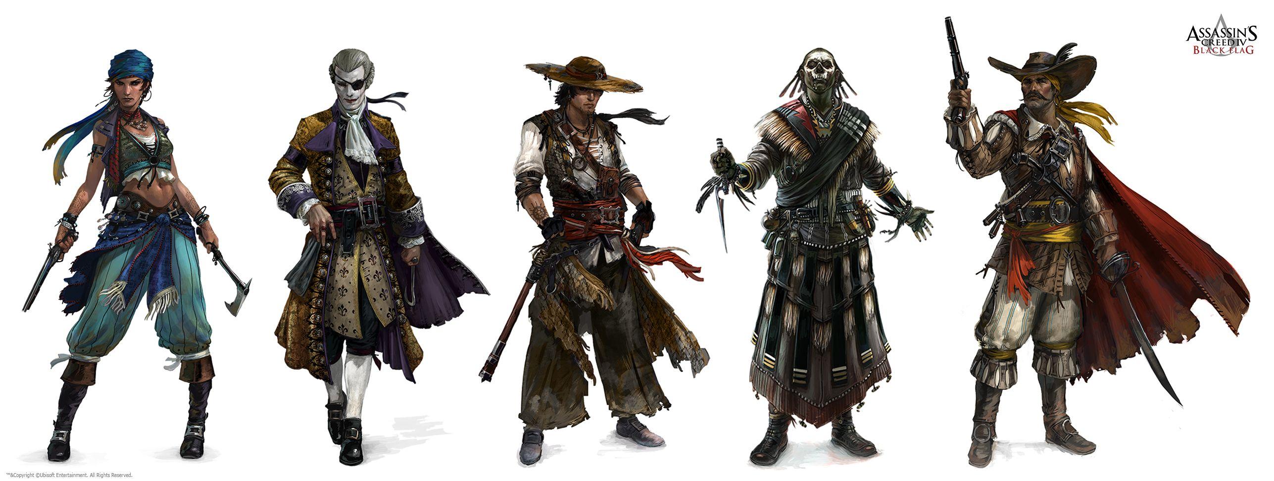 Concept Art Character Design Sketches Concept Art Pirate Art