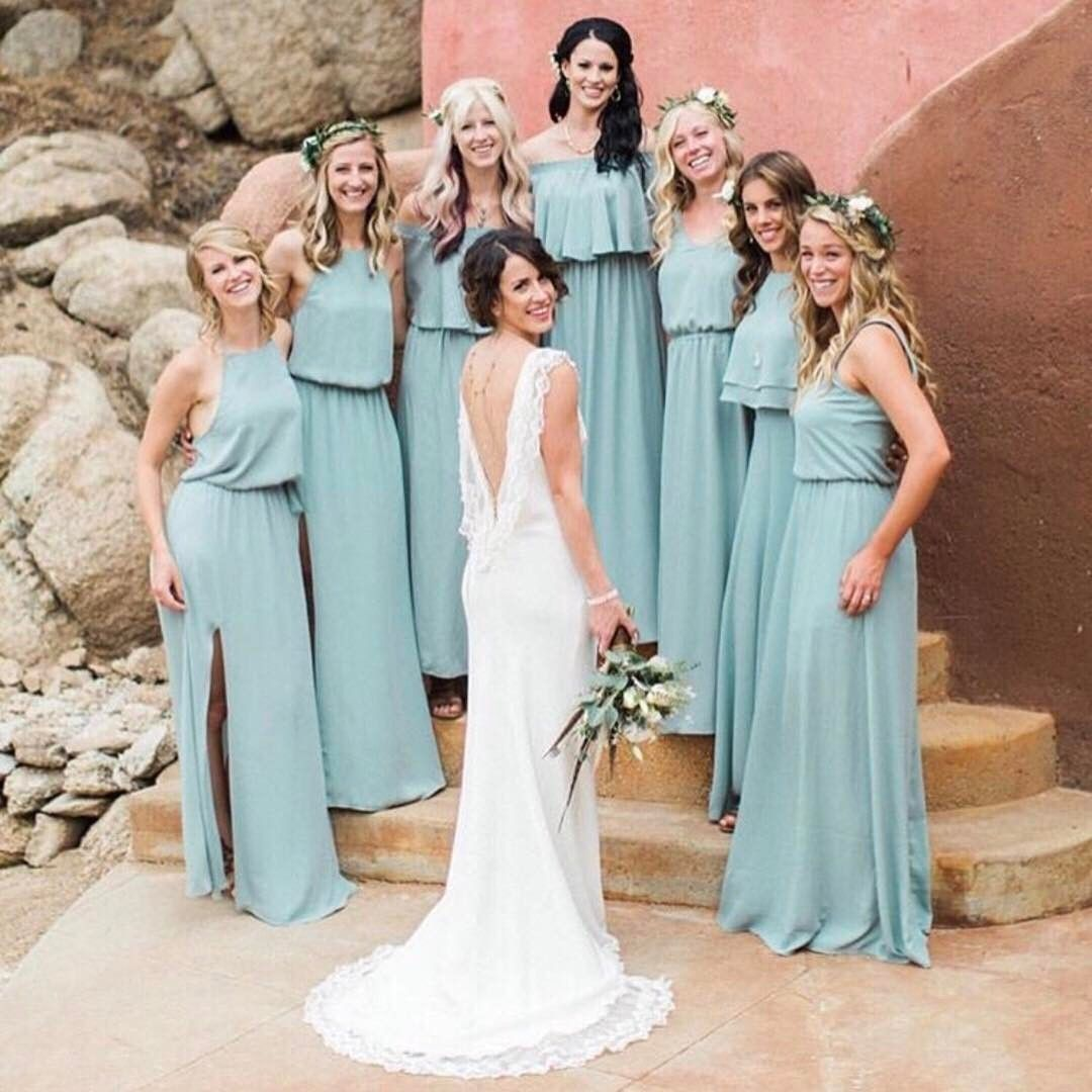 The most incredible Joshua Tree wedding featuring our Silver Sage ...