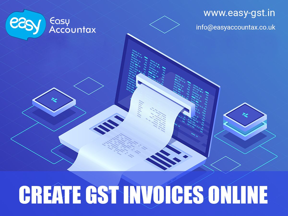 Create GST Invoices Online Invoicing software, Billing