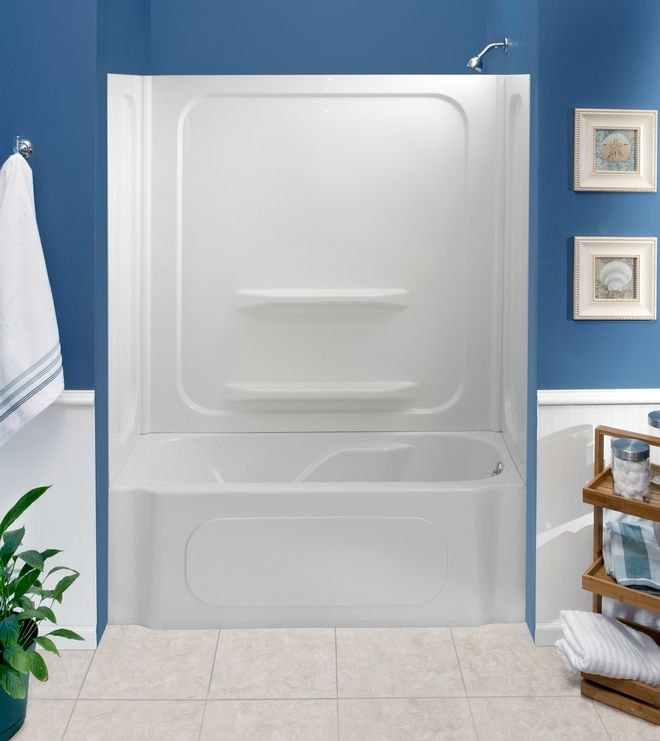 Heated soaking tub @ Menards and Lowe\'s. Aprox $800 + install ...