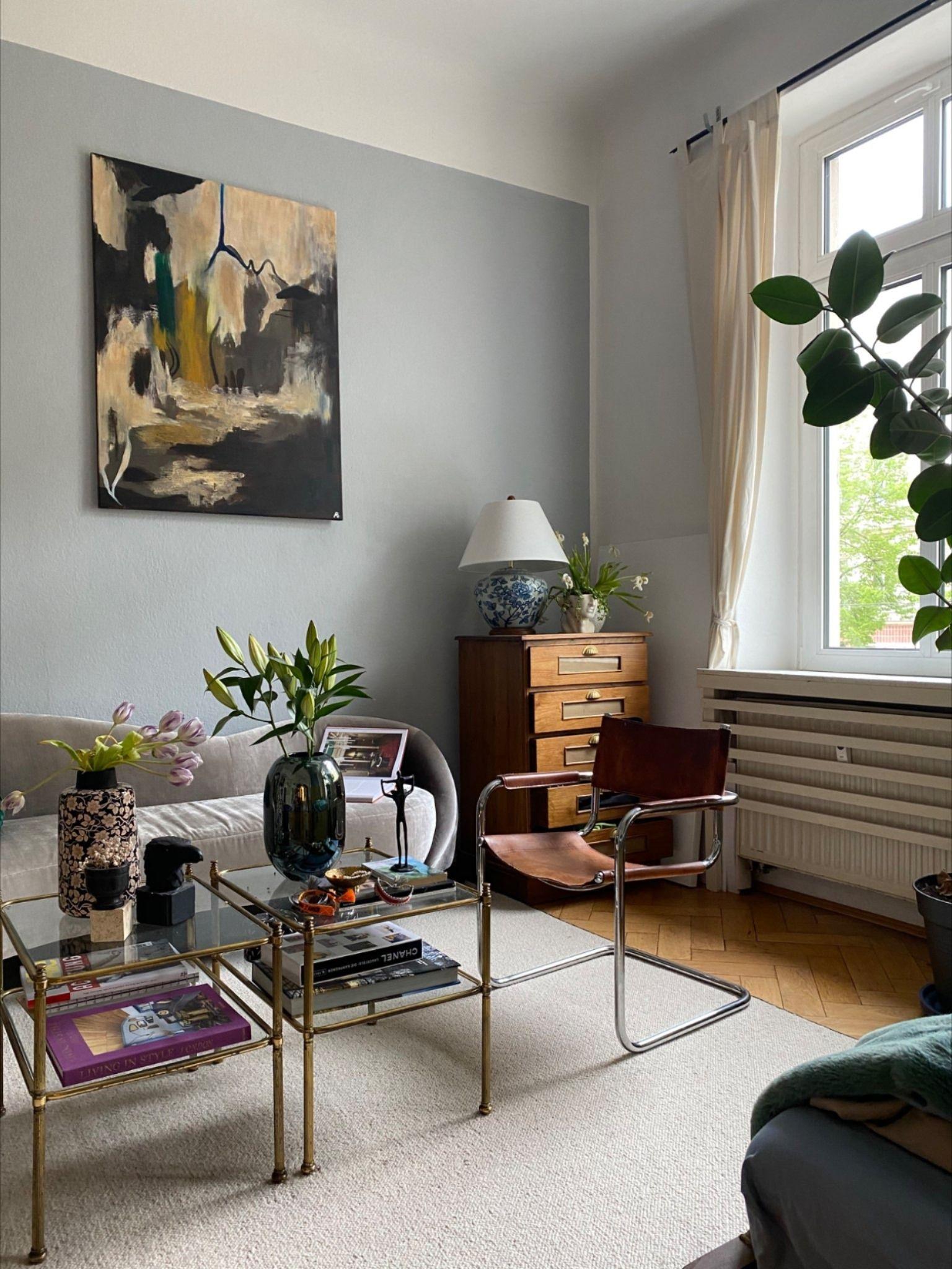 Wohnzimmer im Retro Chic