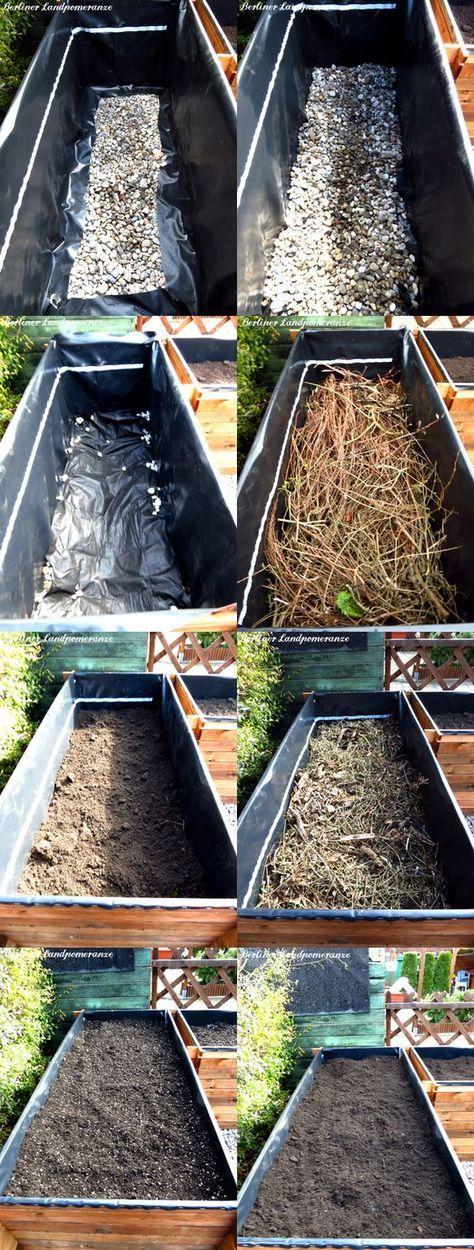 Alles Rund Ums Hochbeet Ii Hochbeet Richtig Befullen Garten Pflanzen Garten Bepflanzen Garten