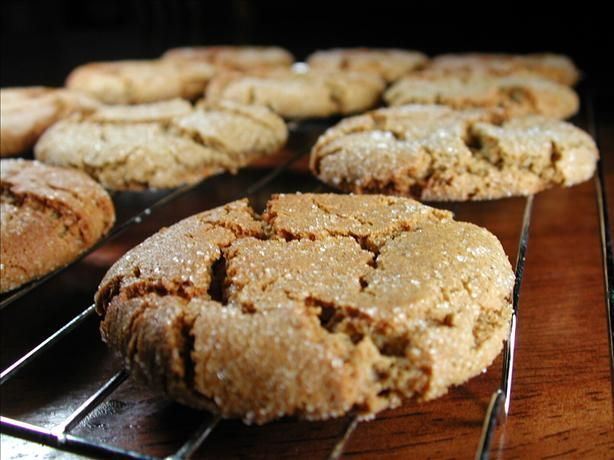 Can make these without molasses (sub syrup). Soft, Spicy, Heavenly Ginger Cookies [vegan].