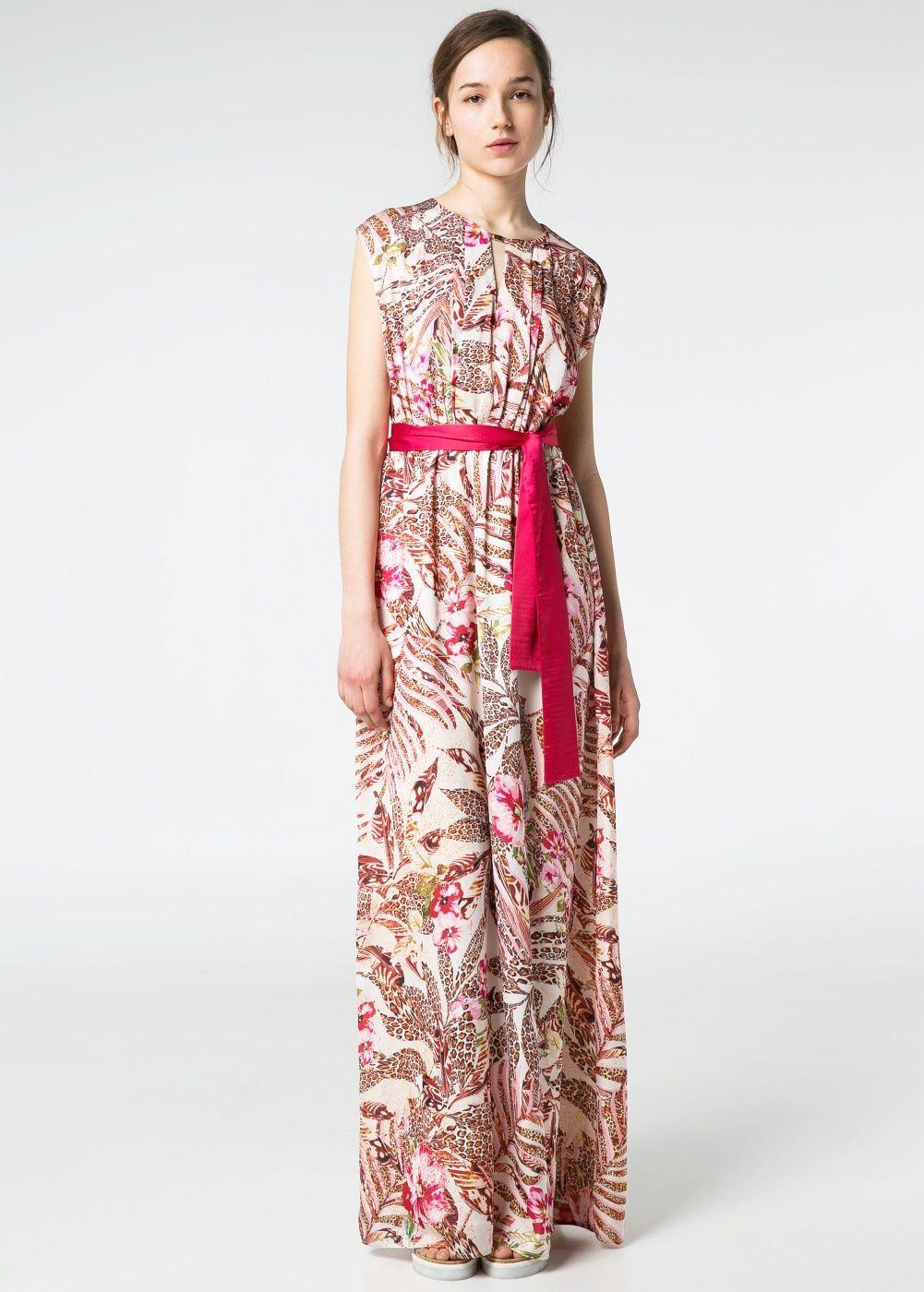 Vestido estampados combinados - Mujer | Pinterest | Estampado, Mango ...