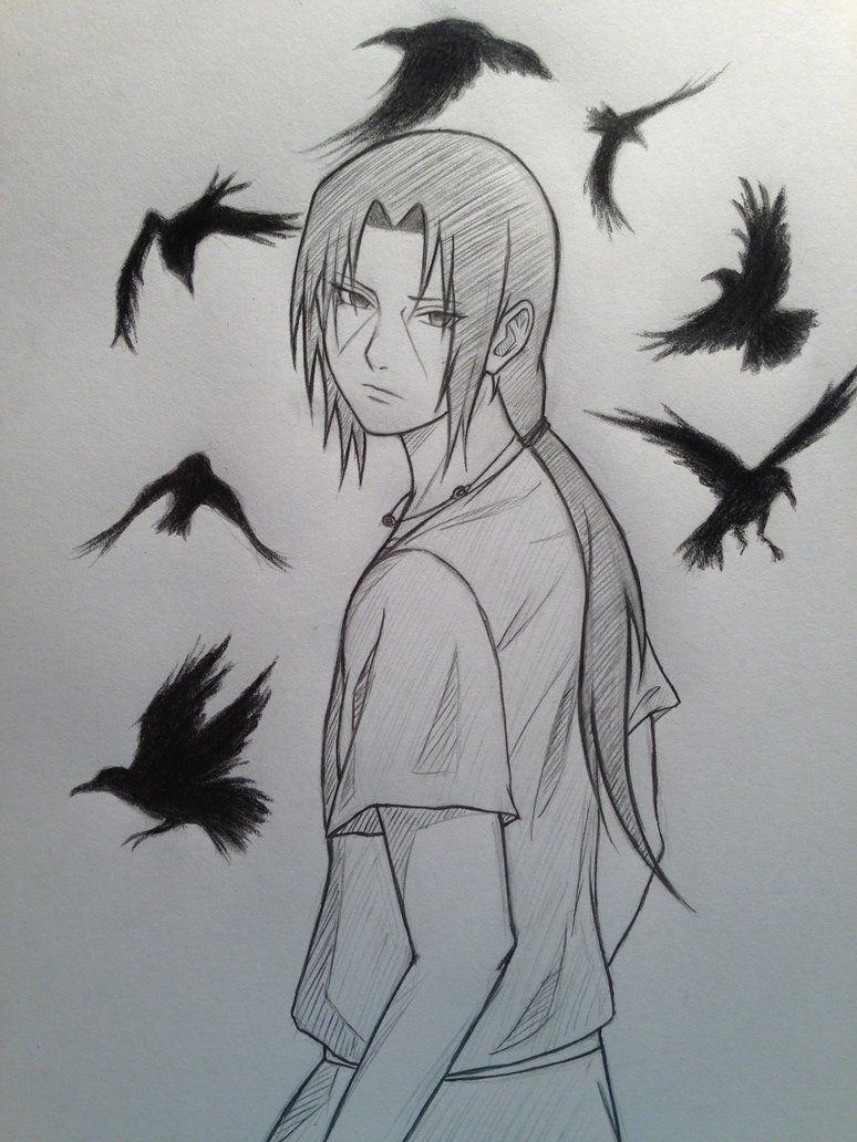 The crows look like they don\u0027t belong there somehow, I made them look too wallpaperish. Itachi Uchiha © Masashi Kishimoto
