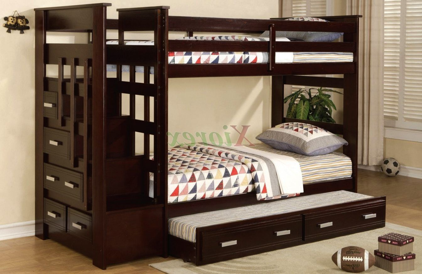 2018 6 Twin Quilted Top Bunk Bed Mattress Navy Interior Bedroom