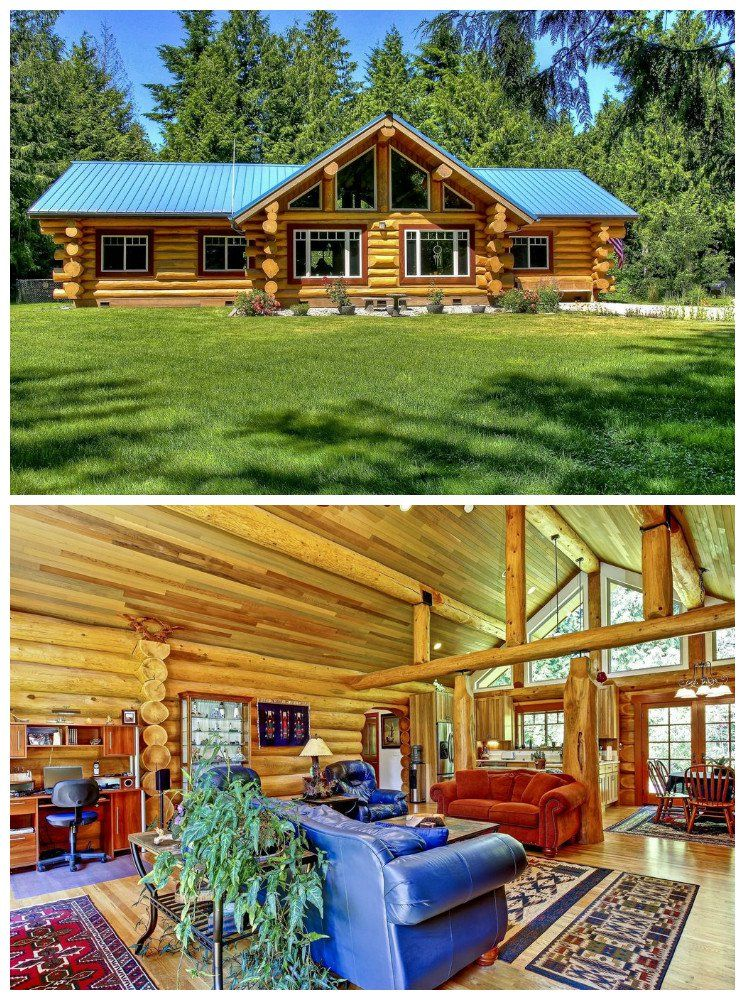 17 Log Cabins We Love Ranch Style Homes Cabin Style Log Homes