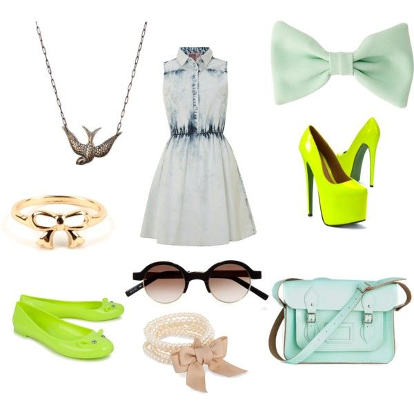 """""""fresh green"""" by beoriginal1729 on Polyvore"""
