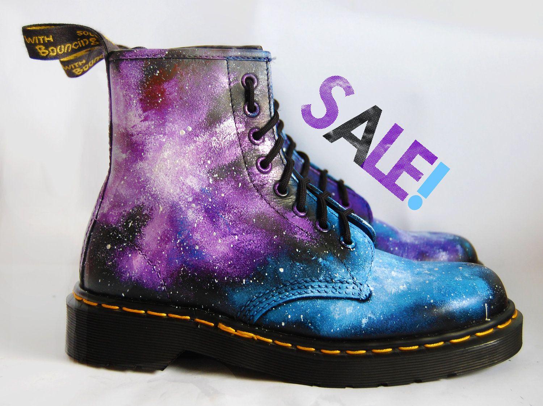 SALE. Size 7 . Gothic Galaxy Cosmic