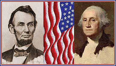 Abraham Lincoln and George Washington | school | Pinterest