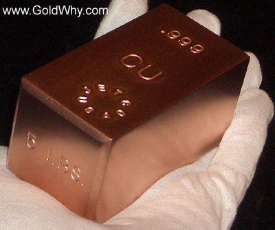 copper bullion
