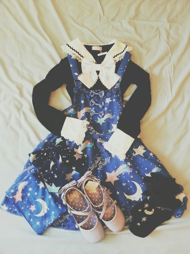 """My Angelic Pretty Dream Sky coordinate!'   Fashion 美容 ..."