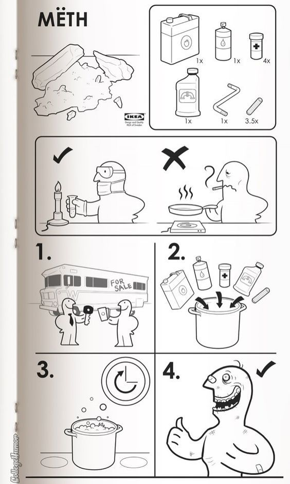 If Ikea Made Instructions for Everything Happy Place Culture - instructional manual