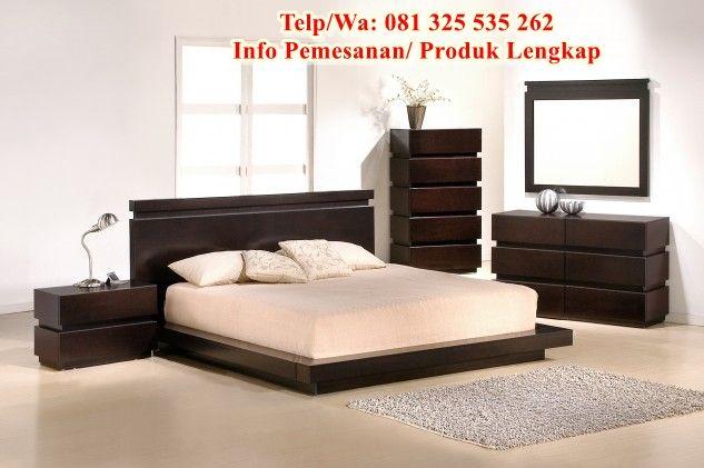 Tempat Tidur Klasik Mewah Modern Desain Set Tempat Tidur