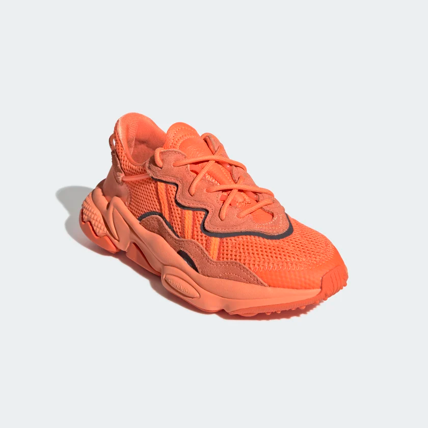 men Orange KidsVintage Shoes sneakersShoesAdidas OZWEEGO ...