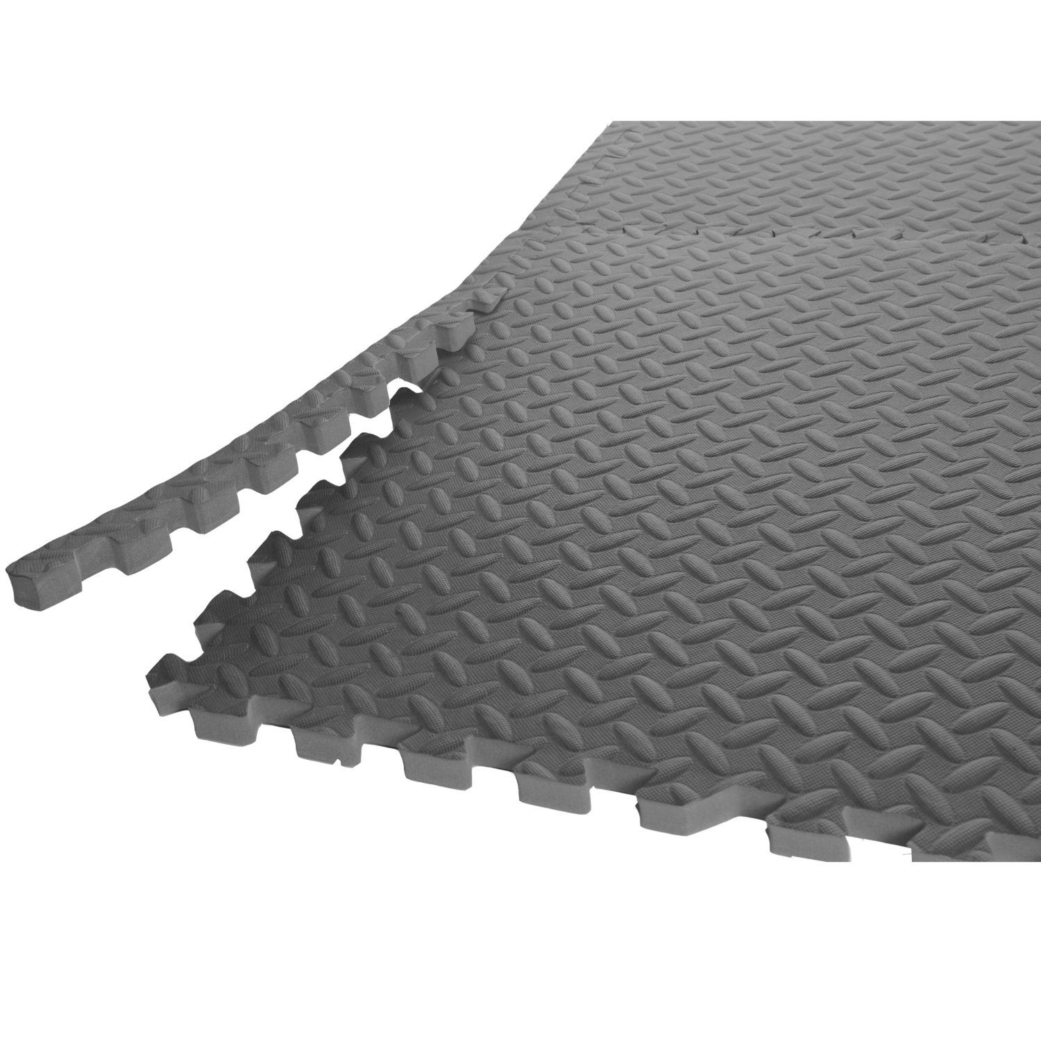 Rubber floor mats cheap - Economy Rubber Garage Gym Flooring Tiles For A Garage Gym Also Try Stall Mats For