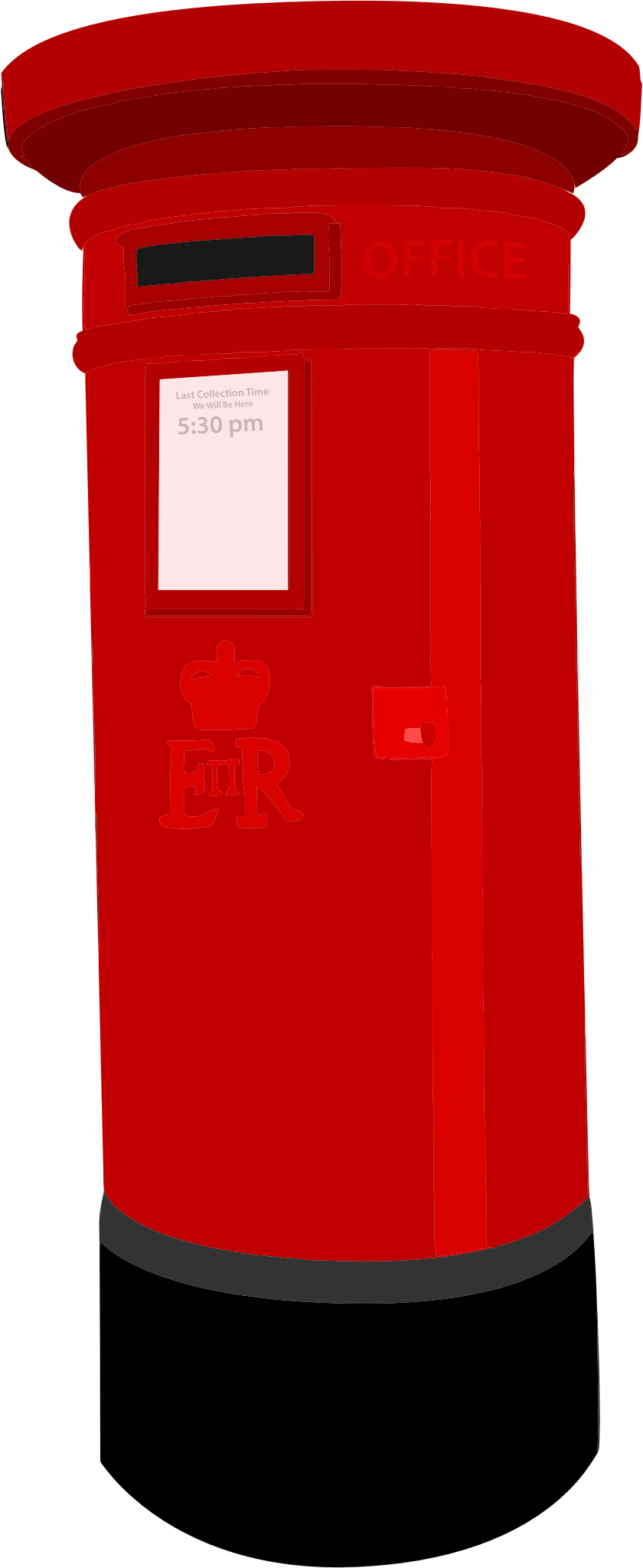 Postbox Png Image Post Box Letter Box Lettering