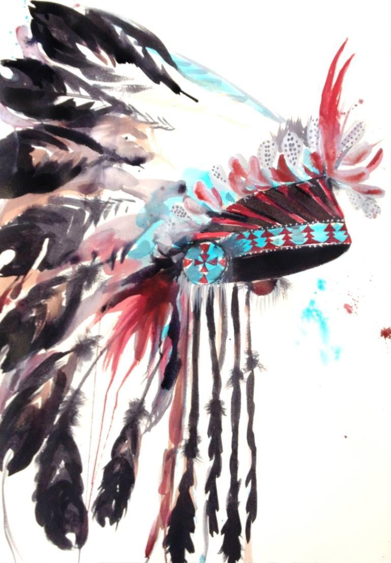 Headdress #1   Native americans, Headdress and Tattoo