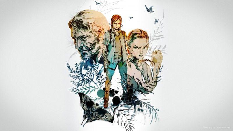 Kojima Productions Yoji Shinkawa Released Gorgeous Art For The Last Of Us Day 2020 The Last Of Us Artwork Kojima Productions