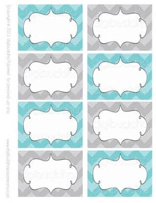 free printable food cards for buffet