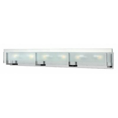 Corrigan Studio Kimber Light Bath Vanity Light Finish Chrome - Six light bathroom vanity light