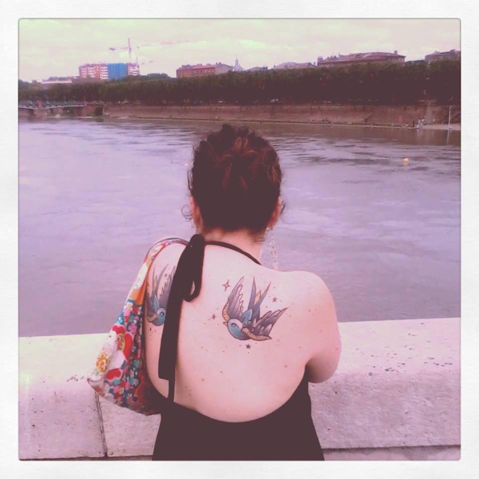 Hirondelles Tattoo Pont Neuf Toulouse Hirondelle