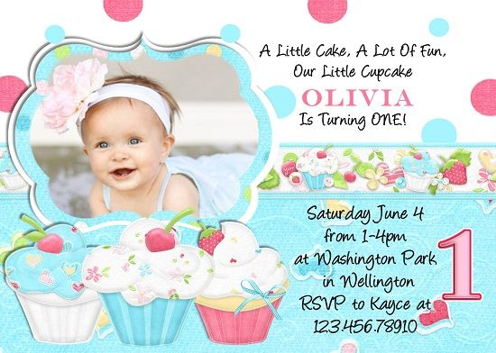 cool cupcake birthday invitations ideas for her download this