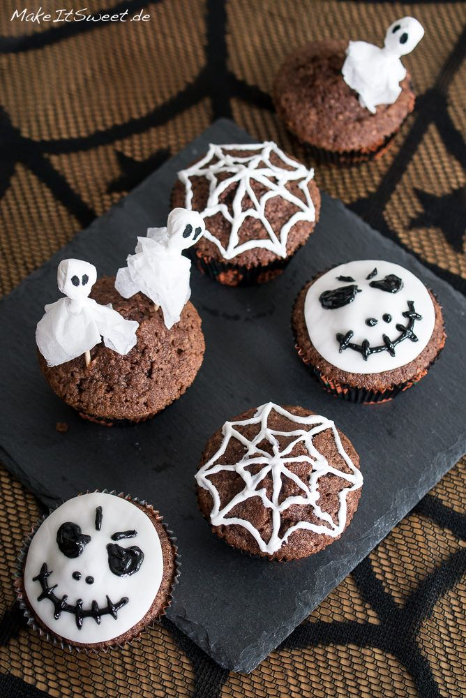 Einfach Halloween-Muffins dekorieren | Gebäck | Halloween ...